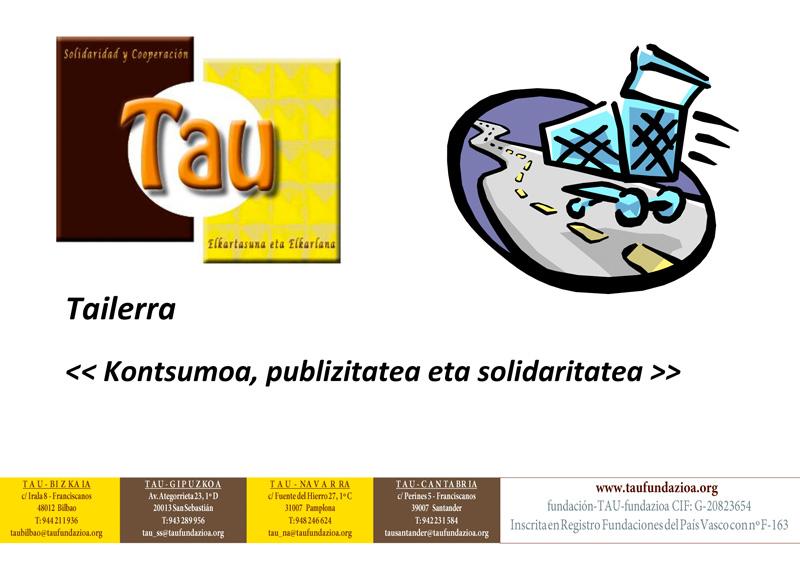 """Taller: """"Publicidad, Consumo y Solidaridad"""""""