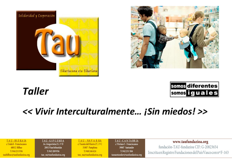 "Taller: ""Vivir interculturalmente… ¡sin miedos!"""