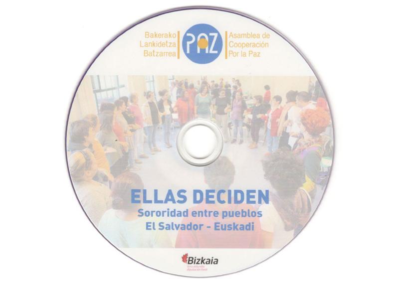 Ellas Deciden. Sororidad entre pueblos. El Salvador – Euskadi