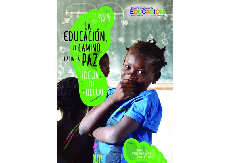 La educación el camino hacia la paz ¡Deja tu Huella!