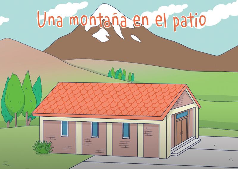 Cuento: Una montaña en el patio