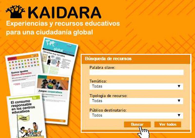 KAIDARA: Banco online de Experiencias y Recursos Educativos para una Ciudadanía global