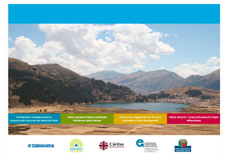 Participación ciudadana para la construcción conjunta del desarrollo local, Perú