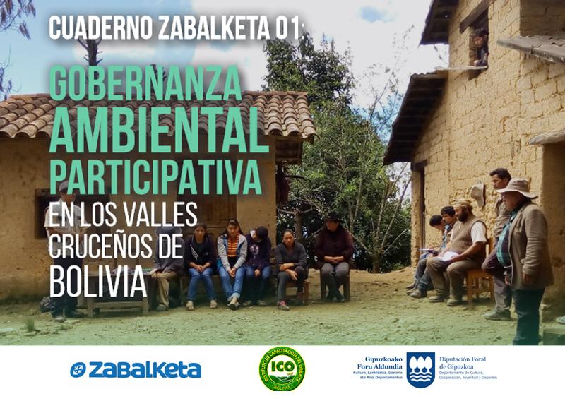 Gobernanza Ambiental participativa en los Valles Cruceños de Bolivia
